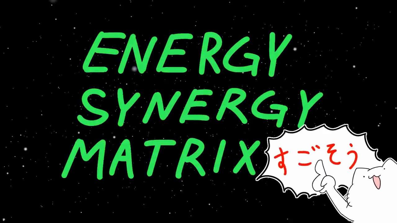 [BOFU2017] ENERGY SYNERGY MATRIX [BGA]