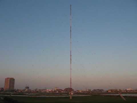 RF-Radio Nippon radio transmitting station.(アール・エフ・ラジオ日本川崎幸放送局)