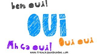 oui and more expressions in French