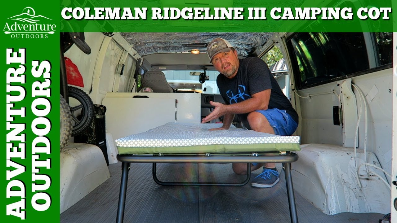 Camping Gear Coleman Ridgeline Iii Camping Cot Review Youtube
