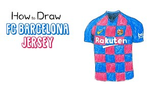 Learn how to draw the latest fc barcelona jersey (2019/2020 season) in this simple, narrated drawing tutorial