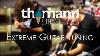 Thomann Summer Games Episode 3: Extreme Guitar Tuning