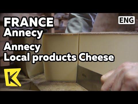 【K】France Travel-Annecy[프랑스 여행-안시]안시에서 만들어지는 특별한 치즈/Sandwich/Local products/Cheese/Savoie