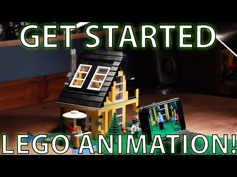 HOW TO Get Started in LEGO ANIMATION - TUTORIAL