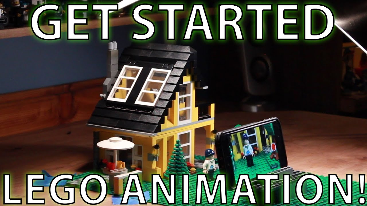How To Get Started In Lego Animation  Tutorial