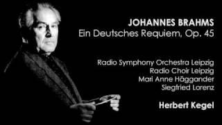 Brahms - Ein Deutsches Requiem, Op. 45: IV. Wie lieblich sind Deine Wohnungen