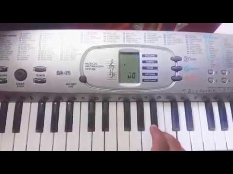 Nuvvante Na Navvu Piano Cover
