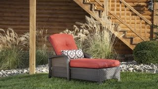 Hanover Strathmere Outdoor Luxury Chaise Lounge With Cushions Are Snug To Fit The Frame