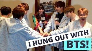 I Hung Out With BTS! Best Night Ever!