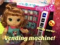 BABY ALIVE: NEW My Life As Vending Machine! That Really Works!!!