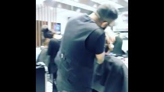 LIVE IN ACTION @OZZiE.O HAIR BARBER SHOP CAFÈ!