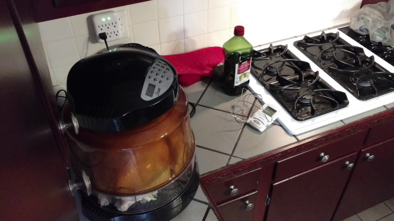 Cook A Whole Turkey In The Nuwave Oven Full Recipe Youtube