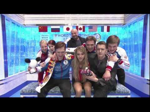 Team Russia World Team Trophy 2017 FD/FS Kiss & Cry