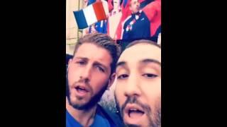 Pour France-Suisse, RTL est allé chambrer les adversaires des Bleus en direct sur Snapchat - RTL