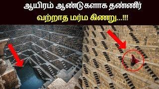 ஆயிரம் ஆண்டுகளாக தண்ணீர் வற்றாத மர்ம கிணறு | Tamil News | Baori Stepwel | Jaipur