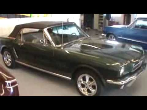 Electric Conversion 1965 Mustang Youtube