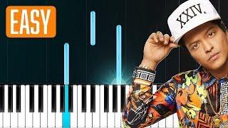"""Bruno Mars - """"Grenade"""" 100% EASY PIANO TUTORIAL"""