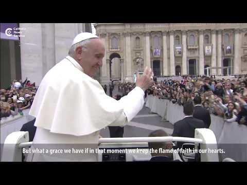 Pope Francis reflects on death | Catholic Newsbreak 10-20-2017