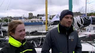 Départ de la Transat en Double / Team Bretagne-CMB