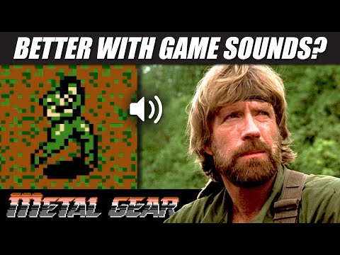 Chuck Norris with METAL GEAR (NES) sounds!