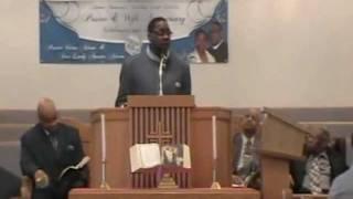 Pastor Victor B. Adams Sr. of Guiding Light/ Adams Memorial C.O.G.I.C