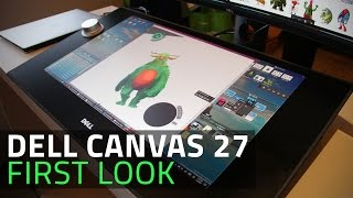 Dell Canvas 27 First Look | Creative Space for Design Professionals