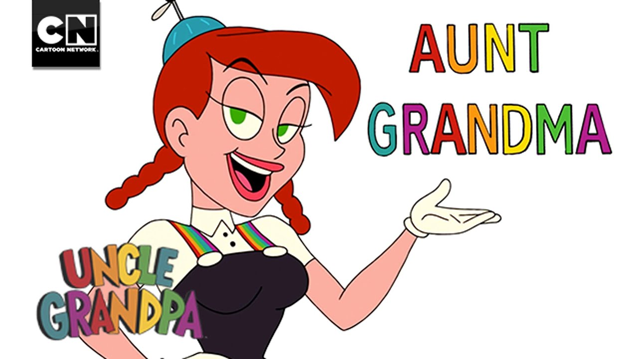 Aunt grandma uncle grandpa cartoon network youtube