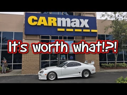 Thumbnail: How much is a 1000hp Supra Turbo worth? Took my Supra to Carmax.