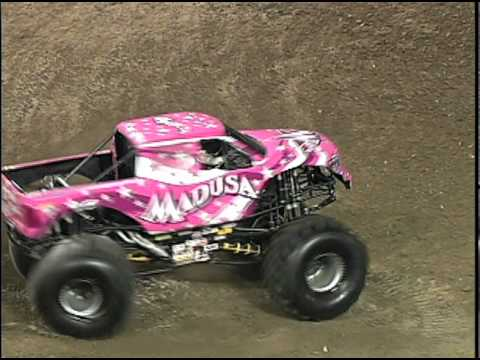 Monster Jam  Madusa Monster Truck Freestyle  Anaheim 11511