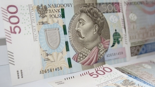 Banknot 500zł nominał Władcy polscy Jan III 3 Sobieski NBP Narodowy Bank Polski Belka HEIDRICH