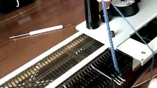 Вязание шнура на вязальной машине Золушка, Нева, Северянка, Кошубка и т.д.