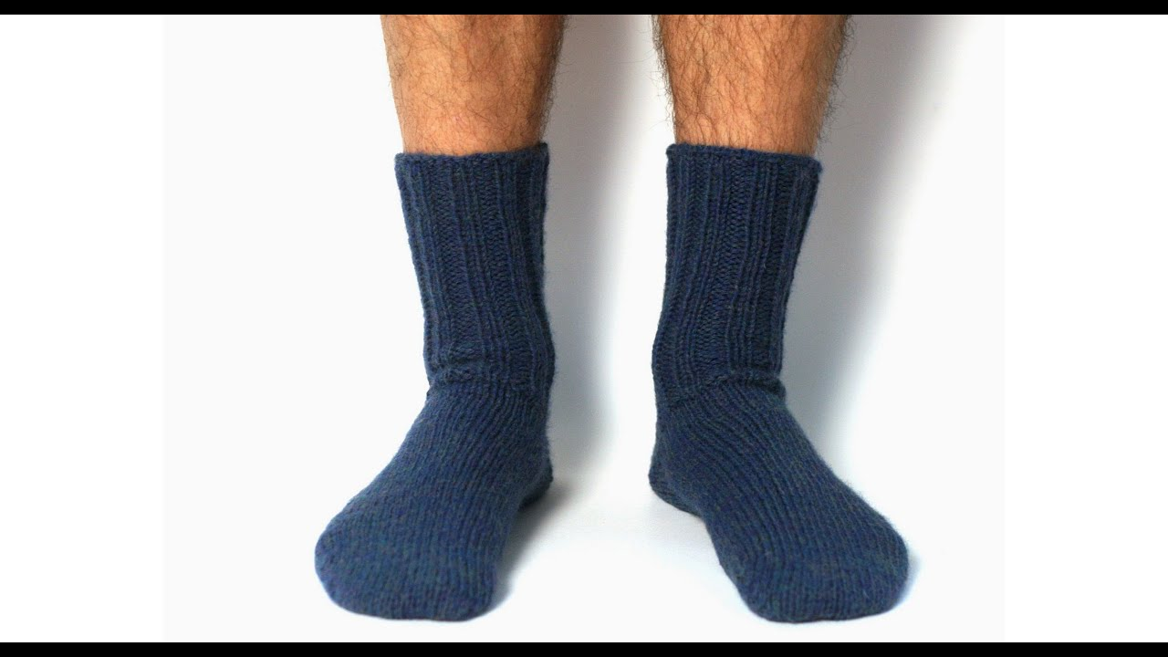 Knitting Pattern Magic Loop Socks : Learn to Knit Toe-Up Magic Loop Socks - ViYoutube