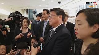 박근혜대통령님, 서울성모병원 긴급후송.