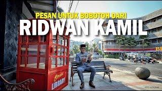 Pesan Ridwan Kamil untuk Bobotoh di Duel Klasik Persib Hadapi Persija