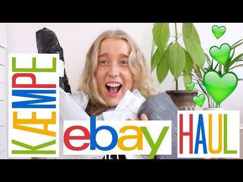 KÆMPE EBAY HAUL!!!! #7