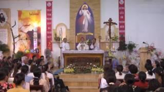 Thánh Lễ Lòng Thương Xót Chúa 2017-  Lạy Chúa Giê Su Chúng Con Tín Thác Vào Chúa