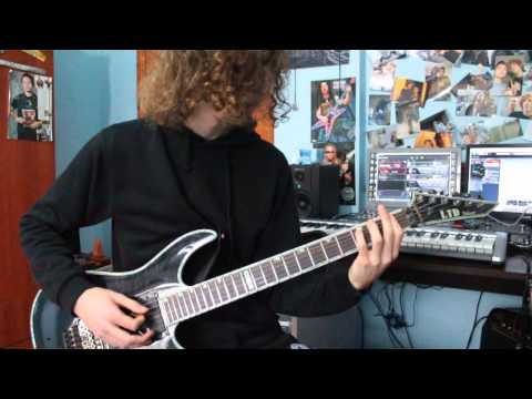 Sylosis - Withered - Guitar Cover (with solo)