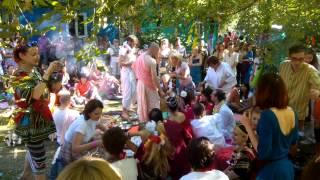 Ведическая свадьба, обряд молодоженов