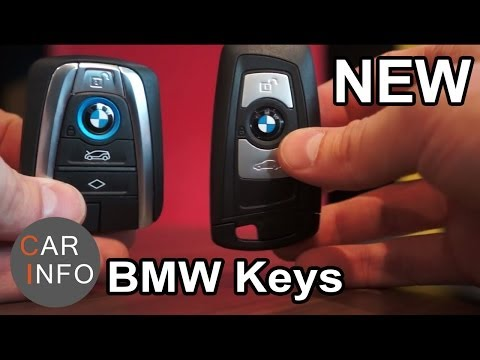 The different new BMW keys