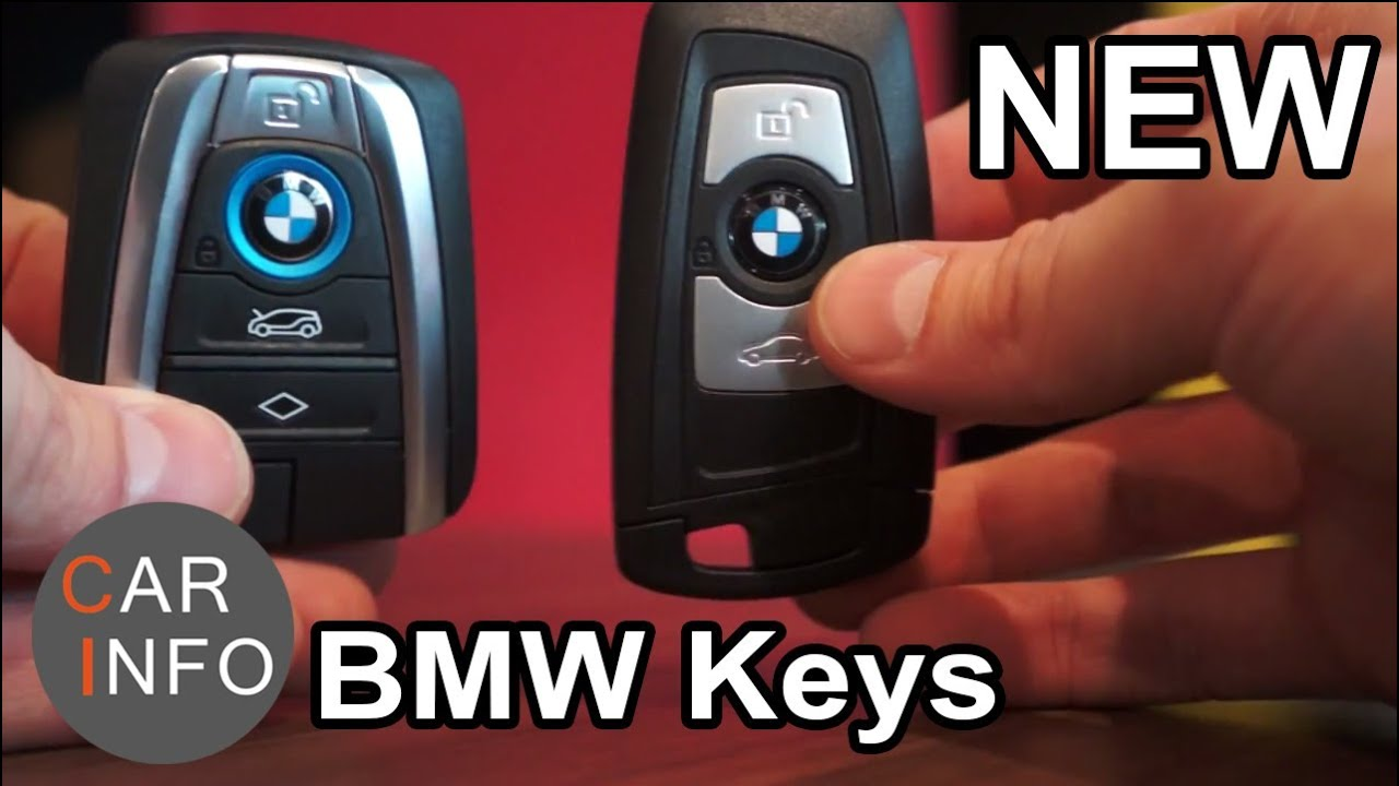 The Different New Bmw Keys Youtube