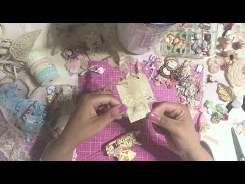 Marie Antoinette Inspired Junk Journal DIY Embellishments - Tags & Tickets