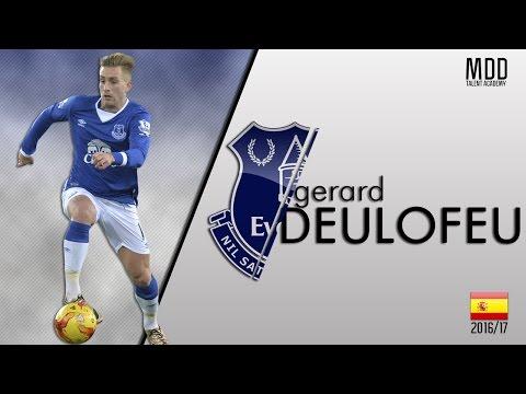 Gerard Deulofeu | Everton | Goals, Skills, Assists | 2016/17 - HD