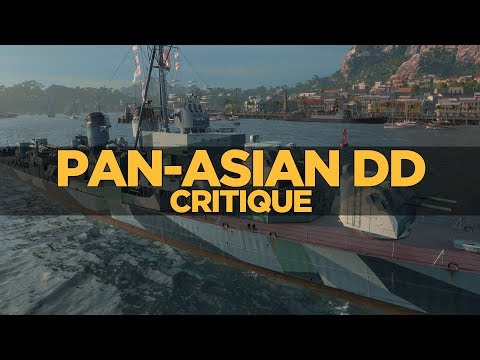 World of Warships - Pan-Asian DD Critique