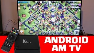 CLASH OF CLANS & MEHR AM TV SPIELEN! || K1 PLUS TV Box geekbuying [Deutsch/German HD+]