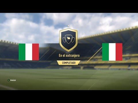 "Squad Building Challenges Italia ""En el Extranjero"" FIFA 17"