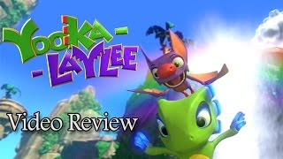 Yooka-Laylee Review (Video Game Video Review)