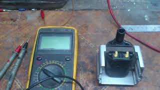 Снова, о проверке катушек зажигания, тестером. Again, about checking the ignition coils, the tester.