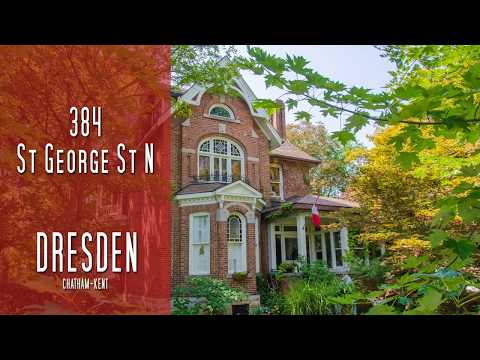 CHATHAM-KENT - 384 St George St N - Dresden [propertyphotovideo]