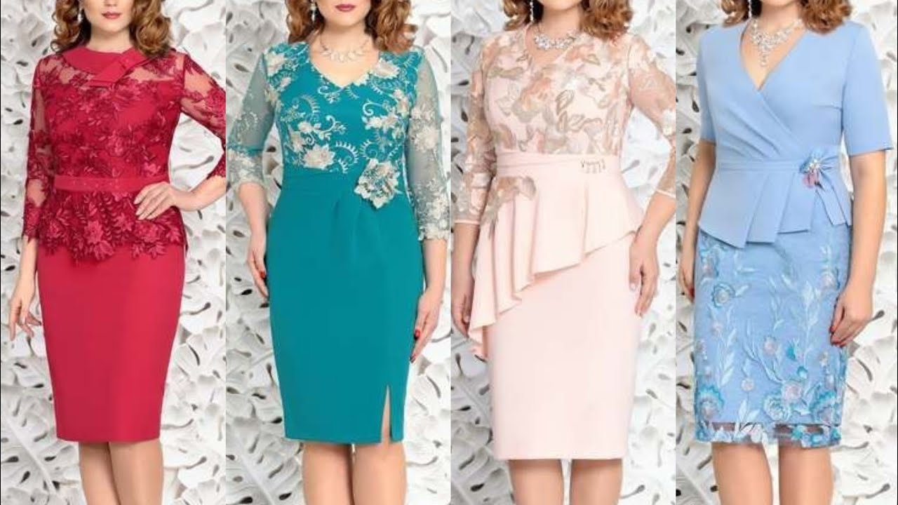 new upcoming fashion and style plus size women bodycon dress with lace appliqu work jackets style