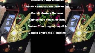 Custom Centipede Themed Dream Arcade Machine.mp4